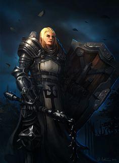 Rebeckah Carlton, Battle Master of the Crusader Order