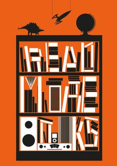 Read More Books print by Johnny Isaacs