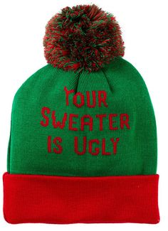607519ca3e8 BIOWORLD Ugly Sweater Cuffed Beanie Wedding Gifts For Bride