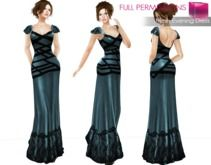 Full Perm Fitmesh and Rigged Mesh Evening Dress