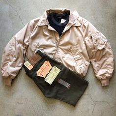 80's military bomber jacket, size S, $42+$16 domestic shipping. Deadstock Levi's 501s, size 31/30, $95+$16 domestic shipping. Call 415-796-2398 to purchase or PayPal afterlifeboutique@gmail.com and reference item in post.