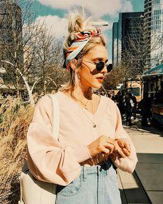 Ideias de looks com bandanas p/ outono  inverno!