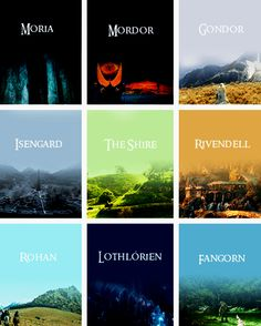 The lands of Middle Earth. I would love to live in Rivendell and be an Elf!
