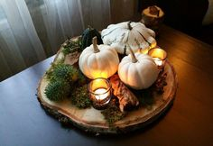 Bist du auf der Suche nach ein paar tollen Dekostücken, die mal was anderes sind: Diese 11 besonderen Herbst- und Winter-Dekoideen sind so HÜBSCH! - DIY Bastelideen