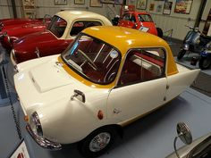 1959 Frisky Family Three ~ The engine ran backwards for reverse #car #automobile