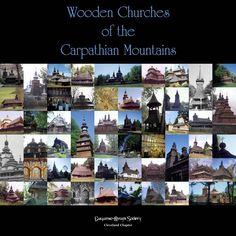 Wooden churches of the Carpathian Mountains (Slovakia)