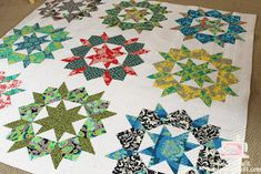 quiltingismytherapy.com 27 Feb 2012: how to quilt a Swoon quilt