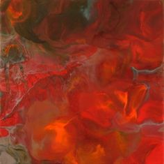 """The Boiling Point 14"""" by 14"""" encaustic on wood panel. Prints starting at $22 http://fineartamerica.com/profiles/4-jason-thomas.html"""
