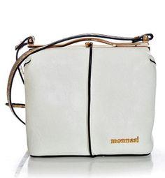 MONNARI Torebka listonoszka zapinana na bigiel kolor biały Bags, Fashion, Handbags, Moda, Fashion Styles, Fashion Illustrations, Bag, Totes, Hand Bags