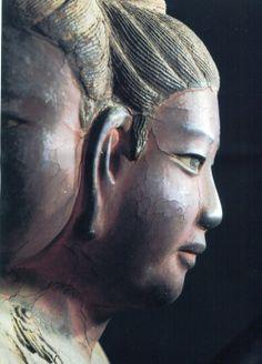 Ashura one of the eight guardian deities of Buddhism. Japanese Landscape, Japanese Art, Nara, Budha Art, Japanese Buddhism, Buddha Zen, Oriental, Krishna Art, Hindu Art