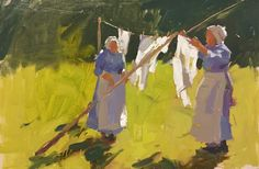 Laundry ladies