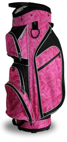 Carry your clubs in style with this Moulin Rouge Taboo Fashions Ladies Monaco Lightweight Golf Cart Bags from Lori's Golf Shoppe!