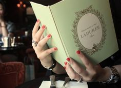 Laduree had my first taste of this place in Harrods in London want to check it out in France next!