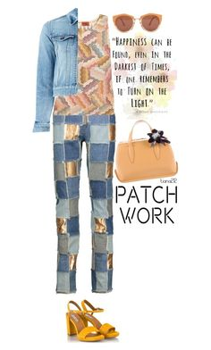 """Patchwork"" by tiana212 ❤ liked on Polyvore featuring Fratelli Karida, Moschino, Missoni, Marni, Yves Saint Laurent and Delpozo"
