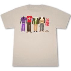Big Bang Theory T-Shirts are so cool and there's certainly a lot of different ones to choose from these days.