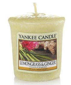 Citronnelle et gingembre - Bougie parfumée votive - Yankee Candle