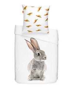 Rabbit Duvet Cover & Square Pillowcase