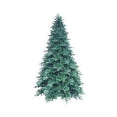 Martha Stewart Living 12 ft. Pre-Lit LED Blue Noble Spruce Artificial Christmas Tree with Warm White Lights-7208008-51 at The Home Depot