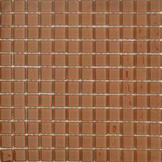 MOSAICOS DE CRISTAL: CRISTAL CARAMELO 30x30 cm