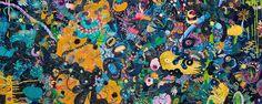 Les paintings fantasmagoriques et abstraits d'Ewa Goral vont vous scotcher !