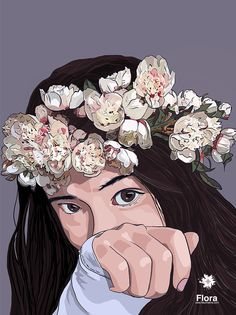 Flora Iphone Skins, Iphone Cases, Wall Murals, Wall Art, Canvas Prints, Art Prints, Tech Accessories, Illustration, Flora