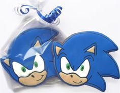 Sega's Sonic the Hedgehog Cookies: Freshly Baked Sonic Cookies by Silvia Sweet Delights.