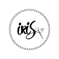 Voor IRIS heb ik het onderstaande logo ontworpen. Iris is ontzettend creatief en handig met naald en draad. Zij maakt de mooiste naai-werkjes en heeft mooie toekomstplannen.  Succes Iris Stienen met IRIS