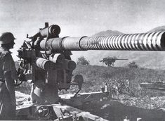 German 88 mm Flak Gun with 44 'Victory Rings' rings.