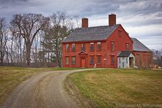 Capt James Patterson House,1765, Dresden,Maine. I love driving past this house!
