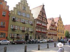 Dinkelsbuhl Germany fantastic old world fairy tale buildings