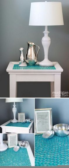 52 DIY Ideas and Tutorials for Nautical Home Decoration,,LOVE THE SILVER VASES