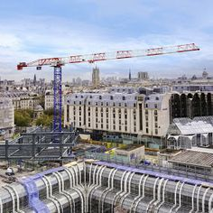 Liebherr Construction – Liebherr tower cranes in Paris