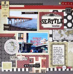 Seattle Layout. #cartabellapaper