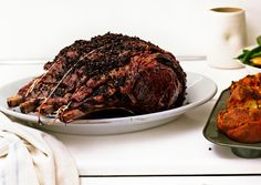 janet mmccracken's rib roast recipe with tapenade