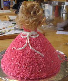 barbie-doll-cake-back