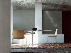 De gezelligheid van rond tafel design -