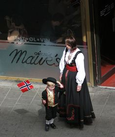 """Gratulerer med dagen (congratulations on the day)! It's Syttende Mai! """"The of May is Norway's Constitution Day. Norway National Day, Brothers Movie, Constitution Day, Norway Travel, Sheer Beauty, Ethnic Dress, My Heritage, Costumes, History"""