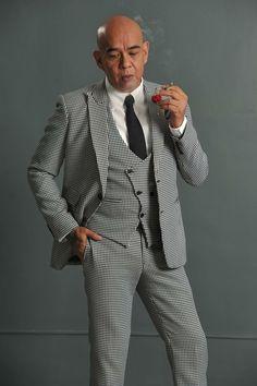The BKS Houndstooth suit #dapper #menswear #suit
