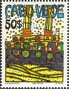 Post with 0 votes and 33 views. Klimt, Modern Art Pictures, Friedensreich Hundertwasser, Postage Stamp Collection, Vintage Mermaid, Classical Art, Mail Art, Stamp Collecting, Beautiful Paintings