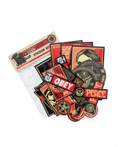 Obey - Sticker Pack (Assorted) - $8