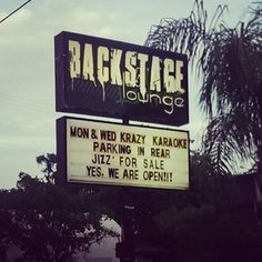 This lounge, which offers way more than just karaoke: | 25 Things You'll Only See In Florida