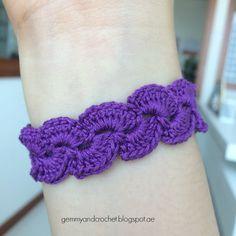 lace scallop bracelet
