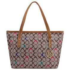 a935be8c7 Casual Signature Printing Pu Leather Tote Shoulder Handbag with Metal  Decoration for Women Gucci Handbags,