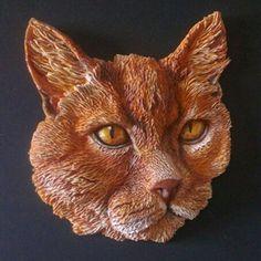 Don Walcott - Unique Pet Sculptures - Cat