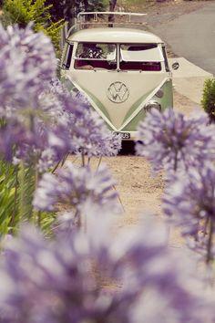 Alexia Michael Toowoomba Wedding Vintage VW Camper