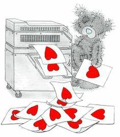 Heart Tatty Teddy Animations Story by Anita Long (alongway99 ...