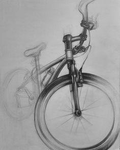 #draw #drawing #karakalem #portre #güzelsaatlar #sanat #obje #tasarim #cloth #color #gsf #fineart #paint #kurs #atölye #resim #sketch #desen #hazırlık #kurs #grafik #içmimarlık #sanatköşkü #imgesel #mekan #figür #çizim #cycle Art Drawings Sketches Simple, Sketchbook Drawings, Graphite Drawings, 3d Drawings, Pencil Drawings, Drawing Ideas, Sketching, Bicycle Sketch, Bicycle Drawing
