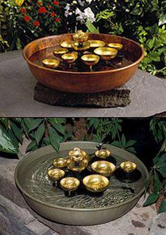Feng Shui Emporium - Water Bell Fountain, $179.00 (http://www.luckycat.com/water-bell-fountain/)