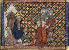 Manuscript BNF Français 12565 Folio 18v Dating 1325-1375 From Paris, Frankreich Holding Institution Bibliothèque Nationale