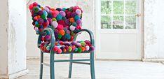 Decorar el hogar con pompones de lana - https://www.decoora.com/decorar-el-hogar-con-pompones-de-lana/